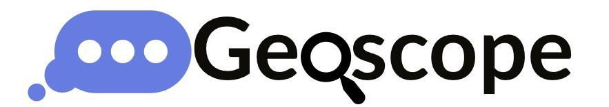 Geoscope - Visualizing your data